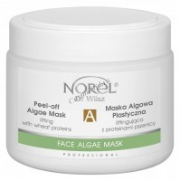 Norel Dr. Wilsz Peel-off algae mask lifting with wheat protein (Восстанавливающая лифтинговая  альгинатная маска с протеинами пшеницы для чувствительной кожи), 250 мл - купить, цена со скидкой