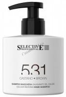 Selective Professional (Оттеночный шампунь-маска, коричневый) - купить, цена со скидкой