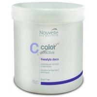 Nouvelle Color Effective Freestyle Deco (Осветляющий порошок для техники свободной руки), 500 гр - купить, цена со скидкой