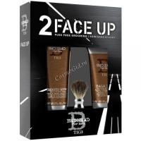 Tigi Bed Head For Men Face Up 2 (Набор: крем для бритья, лосьон после бритья, помазок), 2 средства - купить, цена со скидкой
