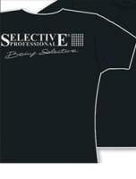 Selective Professional Футболка черная мужская/женская - купить, цена со скидкой