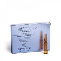Dermatime Acidcure Glycolic Acid 10% (Гликолиевая кислота 10% - Концентрат в ампулах), 1 ампула 2 мл -