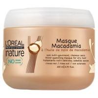 L'Oreal Professional Serie Nature Riche Macadamia Богастство Макадамия - маска для сухих волос 200мл - купить, цена со скидкой