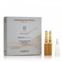 Sesderma Hidroquin Whitening Ampoules (Депигментирующее средство в ампулах), 5 шт. по 2 мл  - купить, цена со скидкой