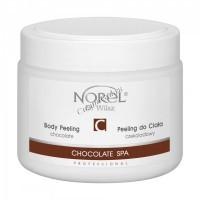 Norel Dr. Wilsz Chocolate SPA Chocolate body peeling (Гелеобразный шоколадный скраб для тела), 400 мл - купить, цена со скидкой