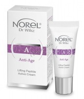 Norel Dr. Wilsz Anti-Age Lifting Peptide Active cream (Омолаживающий лифтинг-крем с нейропептидом, гиалуроновой кислотой и витамином Е) -