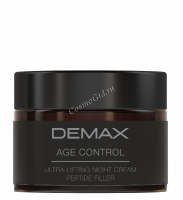 Demax Age Control Ultra Night Cream Peptide Filler (Ночной заполняющий лифтинг-крем с пептидами), 50 мл -