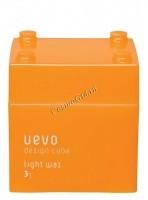 Demi Uevo Design Cube Light Wax (Воск для укладки степень фиксации 3, блеск 1) - купить, цена со скидкой