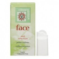 Clean+Easy  Роликовые головки для лица (на 12 гр.) -