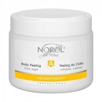 Norel Dr. Wilsz Aromatherapy Citrus sugar body peeling (Очищающий цитрусовый сахарный пилинг для тела на основе овощного и фруктового масла), 400 мл - купить, цена со скидкой