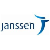 Janssen (Полотенце махровое серое с логотипом, большое) - купить, цена со скидкой