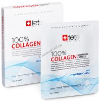 Tete Collagene Hydrogel Mask 100% (Гидроколлагеновая маска моментального действия), 4 саше -