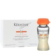 Kerastase Fusio-Dose Concentre Oleo-Fusion (Концентрат Олео-Фьюжн – уход для мгновенного питания сухих волос), 10 шт. по 12 мл -