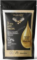 SkinKapz System 3 Step Gold Facial (Набор для лица 3 шага - золото) -