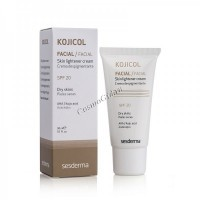 Sesderma Kojicol Skin lightener cream SPF 20 (Крем депигментирующий СЗФ 20), 30 мл - купить, цена со скидкой