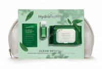 HydroPeptide Kit-Clean Get Away-Green (Дорожный набор в косметичке) -