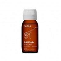 Purles Acid Peels M-Peel 40% (Миндальный пилинг, pH 3,5), 100 мл - купить, цена со скидкой