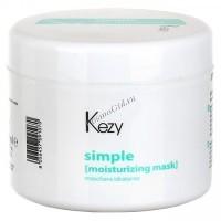Kezy Simple Moisturizing Mask (Увлажняющая маска для волос), 500 мл. - купить, цена со скидкой