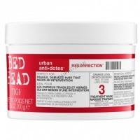 Tigi Bed head urban anti+dotes resurrection tratment mask (Маска для сильно поврежденных волос уровень 3), 200 мл. - купить, цена со скидкой