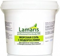 Lamaris Морская соль с водорослями, 1 кг -