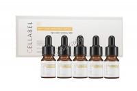Cellabel Multi vitamin brightening ampoule (Биомиметическая мультивитаминная  сыворотка), 5 флаконов по 10 мл -