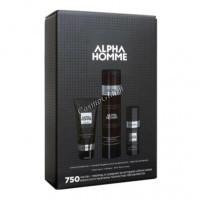 Estel Alpha Homme Набор 750 (Тонизирующий шампунь для волос, крем для бритья, крем после бритья), 3 средства - купить, цена со скидкой