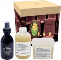 Davines Nounou + OI Box (Шампунь + кондиционер + молочко), 3 средства - купить, цена со скидкой