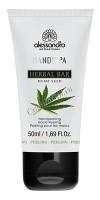 Alessandro Herbal bar sugar peeling hemp (Ароматерапевтический пилинг для рук), 50 мл - купить, цена со скидкой