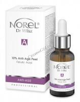 Norel Dr. Wilsz Anti-Age 10% Anti-Age Peel Ferulic acid (Анти-эйдж пилинг с ботокс-эффектом с феруловой кислотой и нейропептидом), 30 мл - купить, цена со скидкой