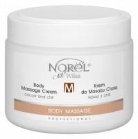 Norel Dr. Wilsz Body massage cream cocoa and chilli (Массажный крем для тела с какао и перцем чили), 500 мл - купить, цена со скидкой