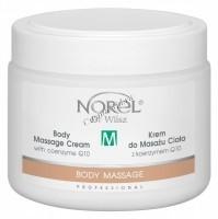 Norel Dr. Wilsz Body massage cream with coenzyme Q10 (Массажный крем с коэнзимом Q10 длительного скольжения), 500 мл - купить, цена со скидкой