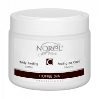 Norel Dr. Wilsz Coffee SPA Coffee body peeling (Кофейный скраб для СПА, оздоровительных и антицеллюлитных процедур), 400 мл - купить, цена со скидкой