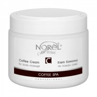 Norel Dr. Wilsz Coffee cream for body massage Coffee SPA (Массажный крем с кофе), 500 мл - купить, цена со скидкой