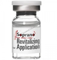 Soprano Revitalising application (Мезококтейль для ревитализации кожи лица, шеи, декольте и тела), 6 мл -