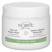 Norel Dr. Wilsz Peel-off algae mask moisturising with milk proteins (Молочная альгинатная маска с протеинами для сухой и шелушащейся кожи), 250 мл - купить, цена со скидкой