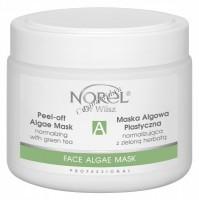 Norel Dr. Wilsz Peel-off algae mask normalizing with green tea (Альгинатная маска с зеленым чаем для всех типов кожи), 250 мл - купить, цена со скидкой