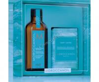 Moroccanoil Набор «Home & Away» Original (Восстанавливающее средство + Мыло), 2 средства - купить, цена со скидкой