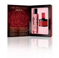 Orofluido Asia elixir + blush (Набор подарочный эликсир + румяна) - купить, цена со скидкой