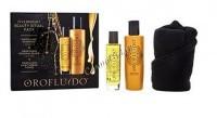 Orofluido Set (Набор для ухода за волосами шампунь + эликсир + тюрбан) - купить, цена со скидкой