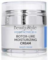 Beauty Style Botox-like Moisturizing cream (Ночной увлажняющий крем с ботоэффектом), 30 мл -