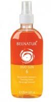 Belnatur DUO SUN 20 Бифазный солнцезащитный лосьон для волос, лица и тела  200 мл - купить, цена со скидкой