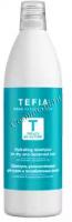 Tefia Treats by Nature (Шампунь увлажняющий для сухих и ослабленных волос с алоэ вера и миндальным молочком), 1000 мл -