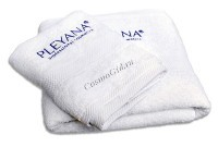 Pleyana (Простынь махровая с логотипом), 100 x 180 см -