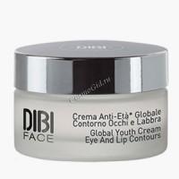 Dibi Global youth cream eye and lip contours (Комплексно омолаживающий крем для области вокруг глаз и губ), 15мл. - купить, цена со скидкой