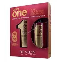 Revlon Professional uniq one duo pack (Набор - шампунь+маска-спрей) - купить, цена со скидкой