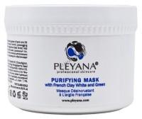 Pleyana Purifying Mask with French Clay White and Green (Маска очищающая с Французскими глинами белой и зеленой) -