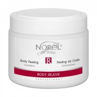 Norel Dr. Wilsz Body Rejuve Cranberry body peeling (Скраб для тела с экстрактом клюквы), 400 мл - купить, цена со скидкой