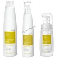 Lakme K.therapy Repair Gift Pack (Набор средств для восстановления волос), 3 средства - купить, цена со скидкой
