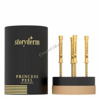 Storyderm Princess Peel (Пилинг для эластичности кожи с микроиглами), 4 шт x 2 мл -