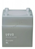 Demi Uevo Design Cube Dry Wax (Воск для укладки степень фиксации 10, блеск 2) - купить, цена со скидкой